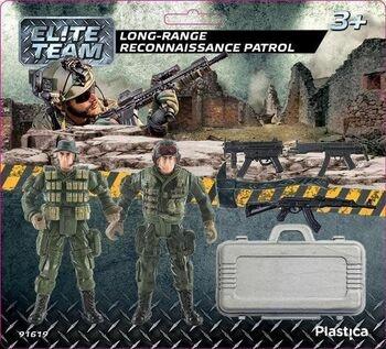 Vojáčci Plastica Long-range