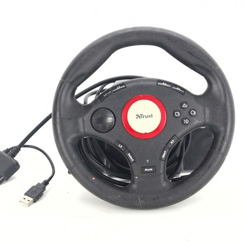 Volant Trust GXT 27 Force Vibration USB/PS3