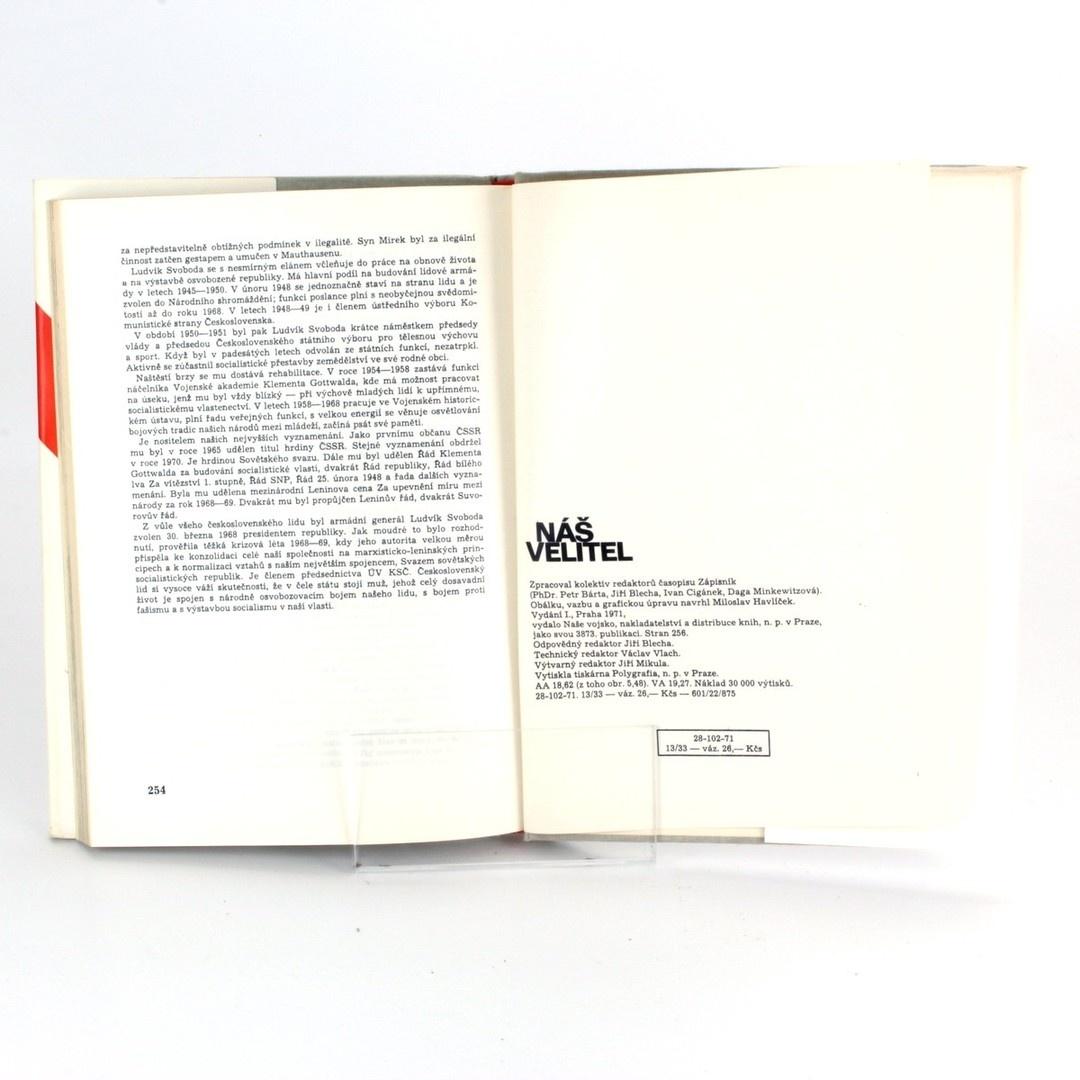 Kniha Náš velitel Kolektiv autorů