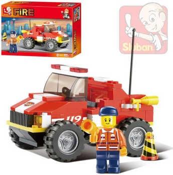 Stavebnice Sluban M38-B0217 hasiči