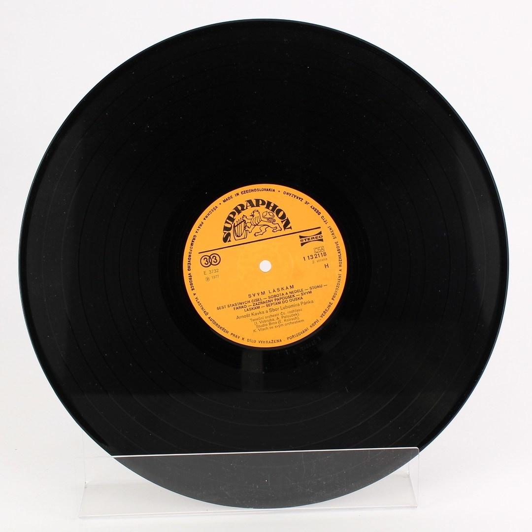 Gramofonová deska Svým láskám