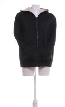 Dámská flísová mikina černá s kapucí