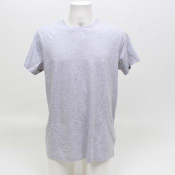 Pánské tričko MERAKI melírované šedé