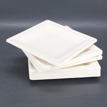 Papírové tácky hranaté 30 ks