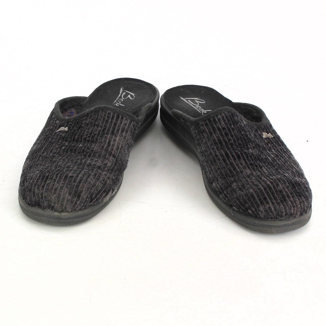 Pánské papuče Beck 7049 černé
