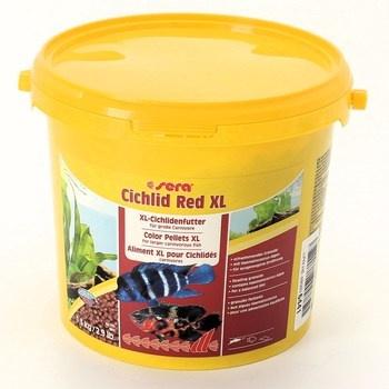 Krmivo pro ryby Sera Cichlid Red XL