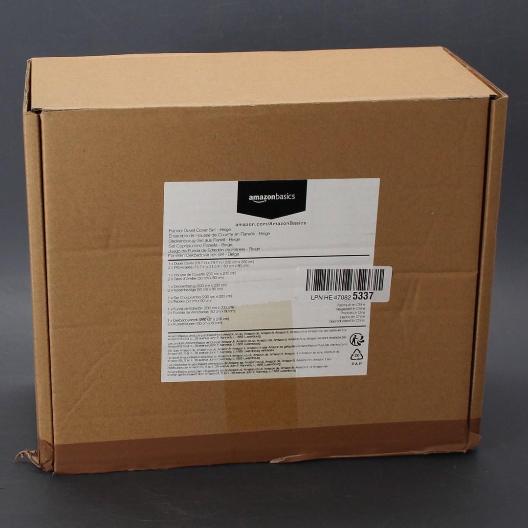Sada povlečení AmazonBasics DS12-BEG-008