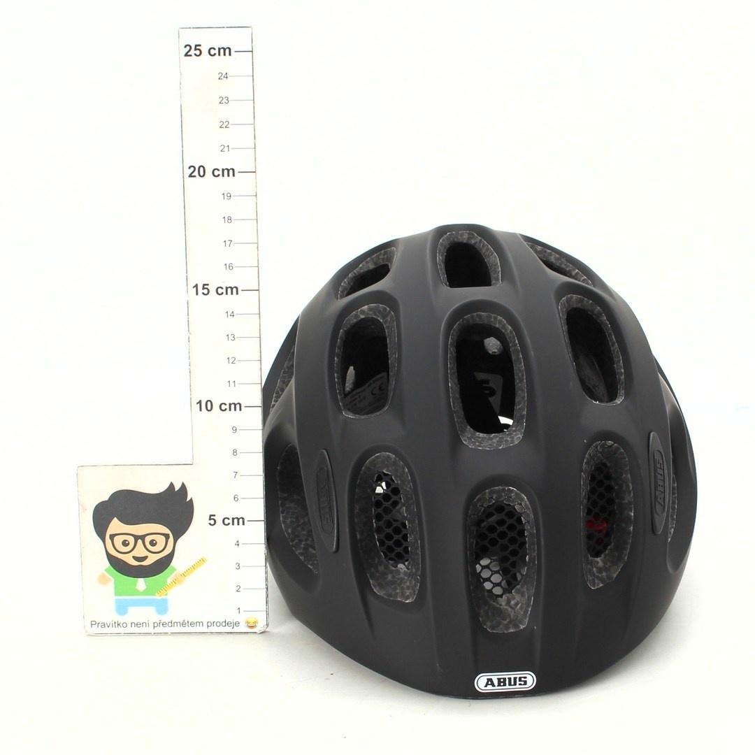 Dětská helma Abus černá matná