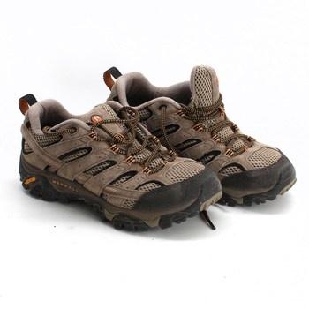 Dámské turistické boty Merrell hnědé