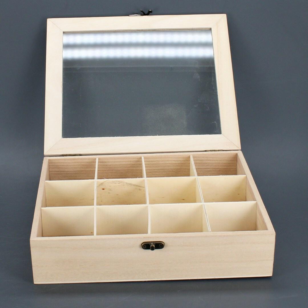 Úložný box na čaj Rayher 6241500