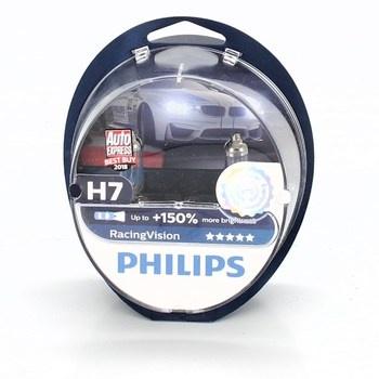 Autožárovky Philips H7 RacingVision 2 ks