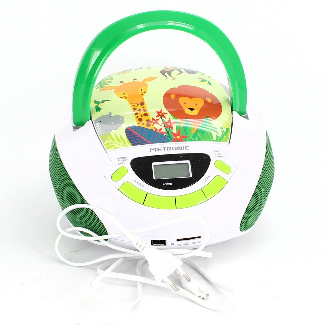 CD přehrávač Metronic 477144