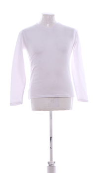 Pánské termo triko dlouhý rukáv bílé