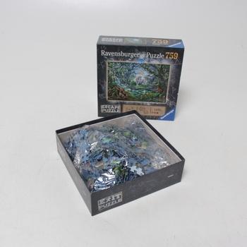 Puzzle Ravensburger ESCAPE Jednorožec