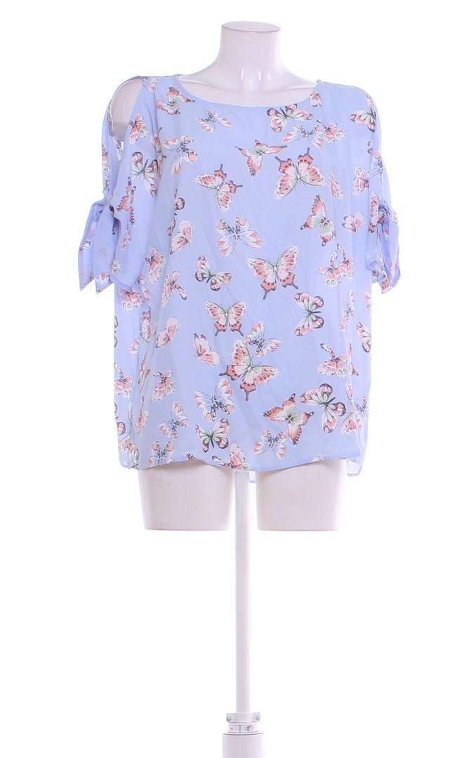Dámská halenka F&F modrá s motýly