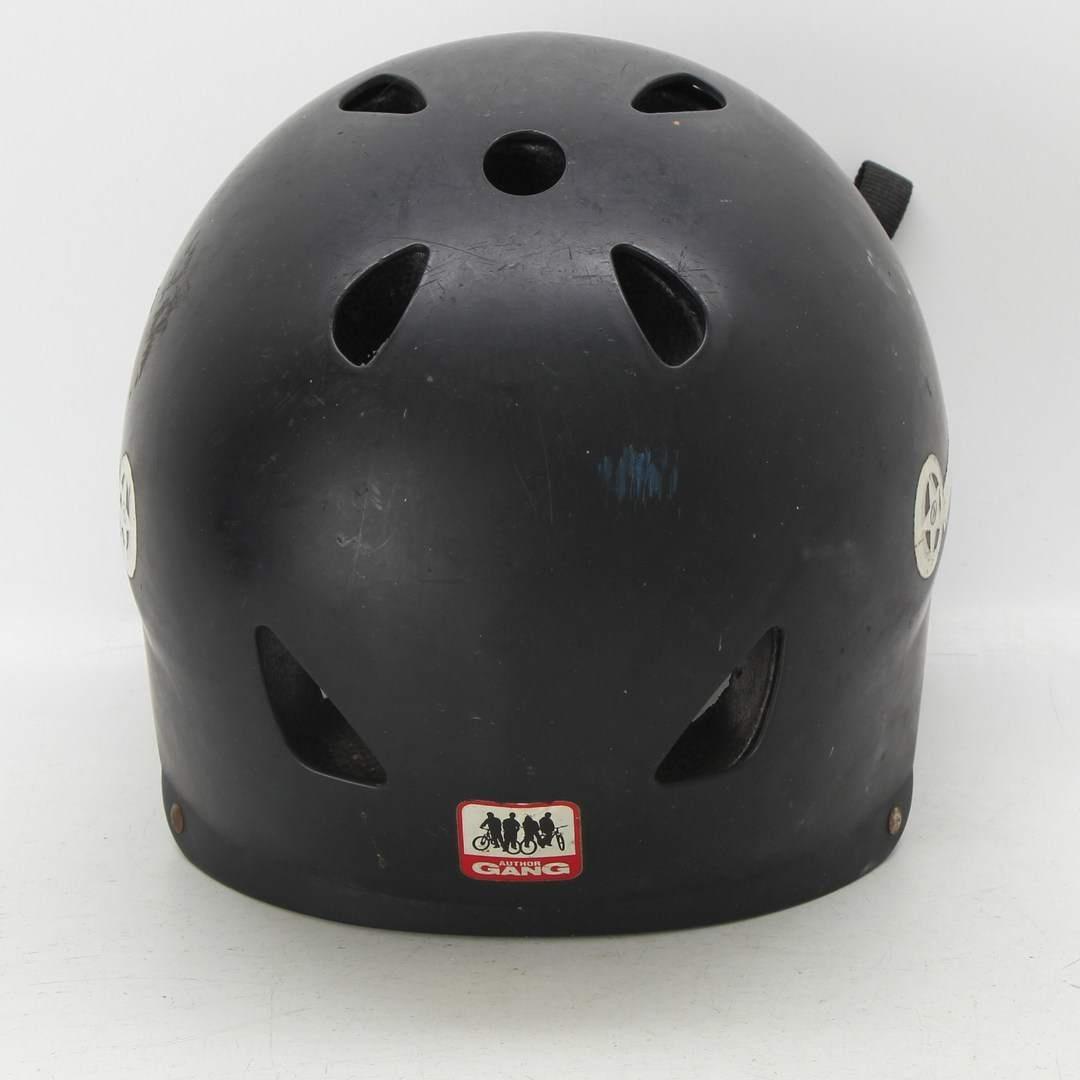 BMX helma Author Mission černá