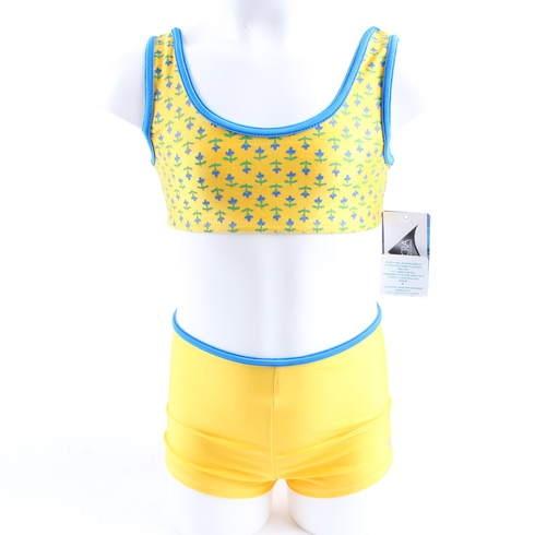 Dětské plavky Modeta Style žluto modré - bazar  567ff4d046