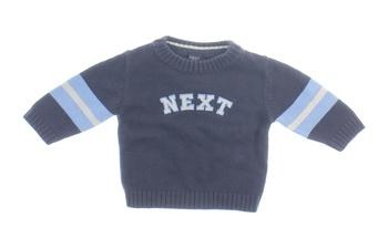 Kojenecký zimní svetr Next odstín modré