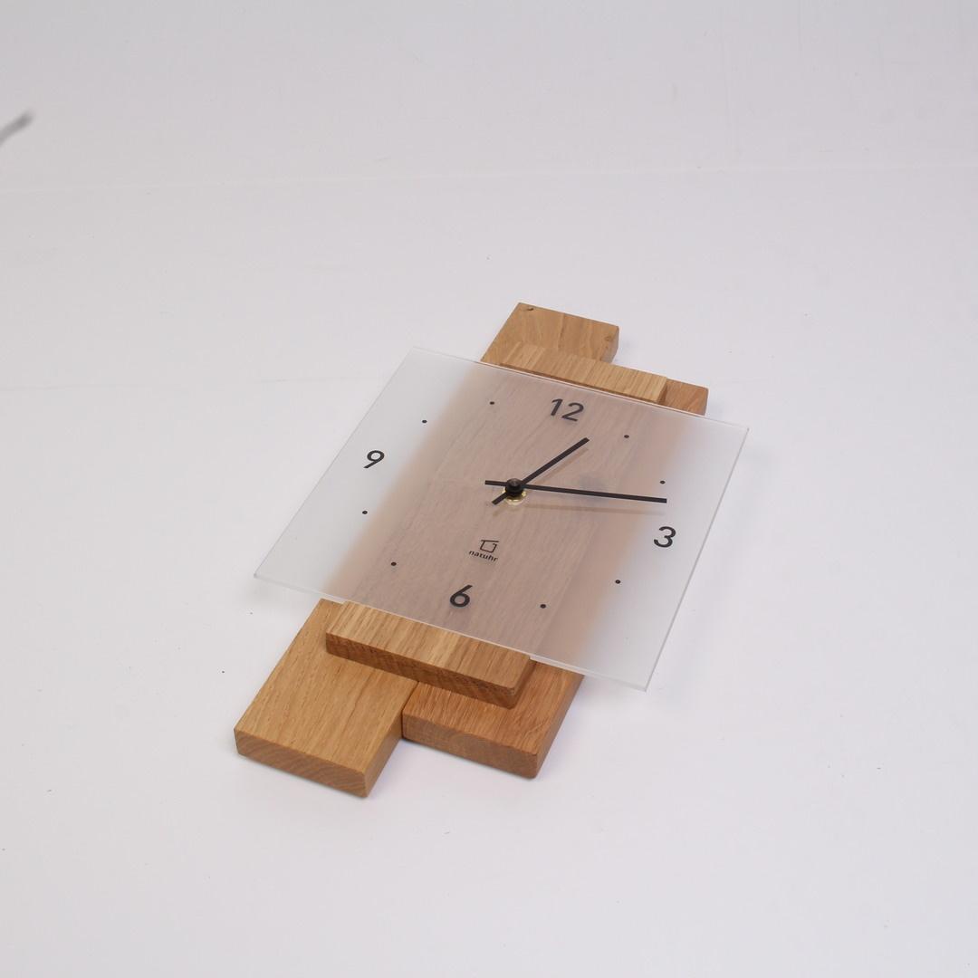 Nástěnné hodiny Natuhr dřevěné