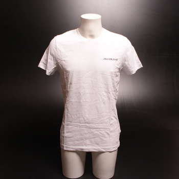 Pánské triko Calvin Klein bílé