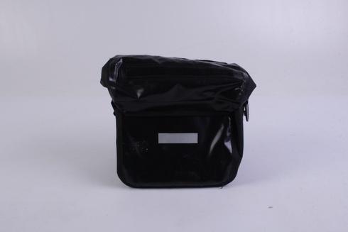 Cyklistická brašna odstín černé