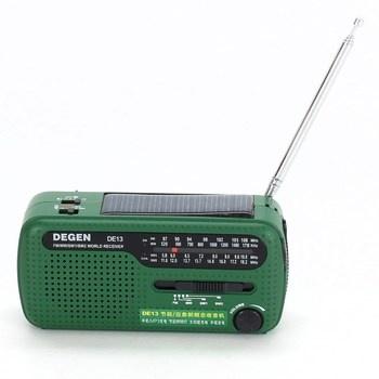 Přenosný radiopřijímač Degen DE13