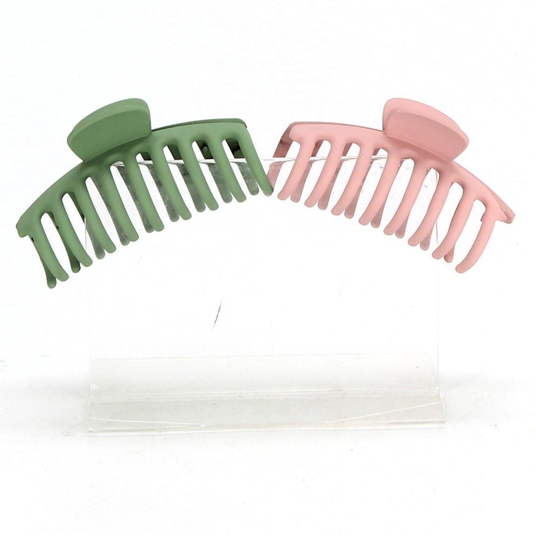 Skřipce do vlasů Zaloife ZO-001 barevné 6 ks