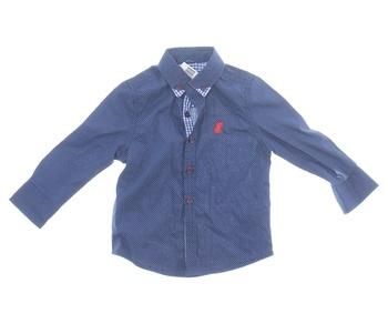 Chlapecká košile Rebel odstín modré