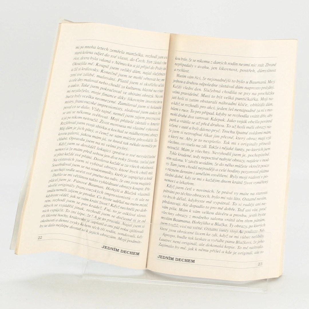 Kolektiv autorů: Jedním dechem – Otisk na čepeli