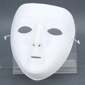 Maska Festartikel Müller bílá