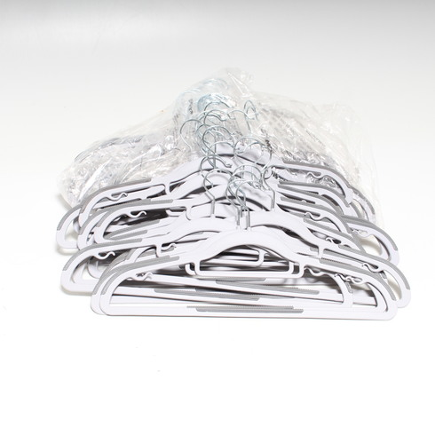Plastová ramínka SONGMICS CRP20G50 15 ks