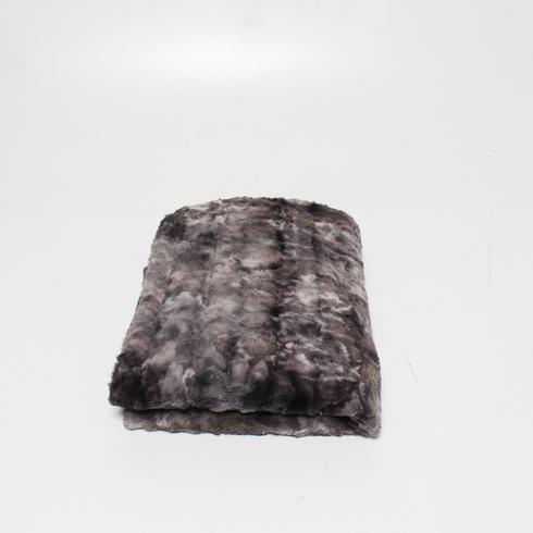 Přikrývka AmazonBasics TEX-faux_fur_blanket_