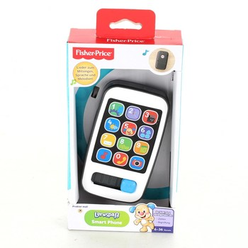 Dětský telefon Fisher-Price se zvuky