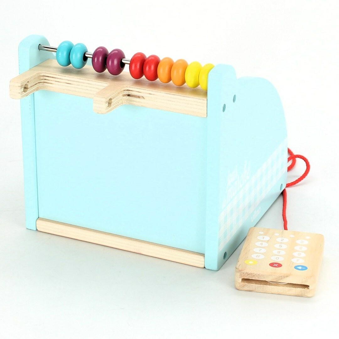 Dětská pokladna - dřevěná