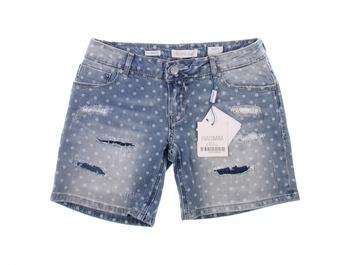 Dámské šortky Fracomina modré s dírami