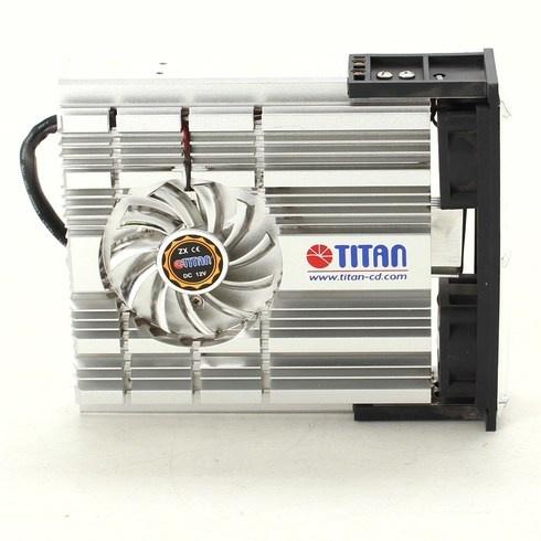 Chladič s ventilátorem Titan