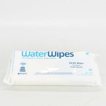 Vlhčené ubrousky Water wipes