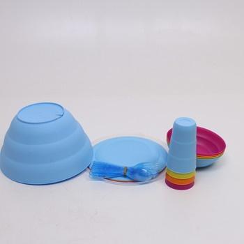 Jídelní plastový set Renberg 4401 piknik