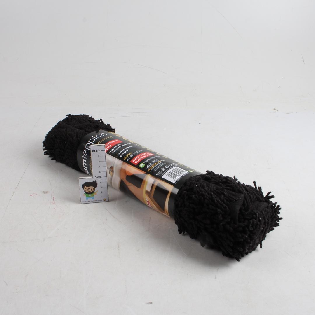 Kobereček Oeko-Tex černé barvy