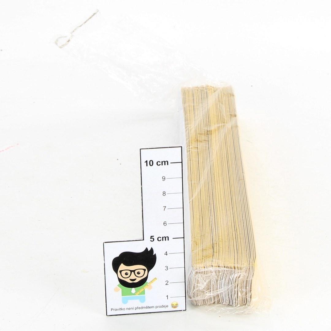 Reflexní pásek žlutý - 50 ks