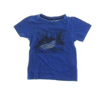 Dětské tričko Dopodopo modré se žralokem