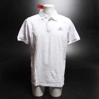 Pánské tričko Kappa 303173 bílé vel. L
