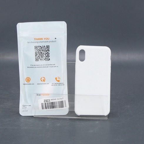 Ochranný kryt KWMobile pro iPhone X bílý
