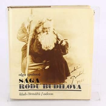 Kniha Sága rodu Budilova Olga Spalová