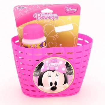 Košík na kolo + láhev na kolo Disney Minnie