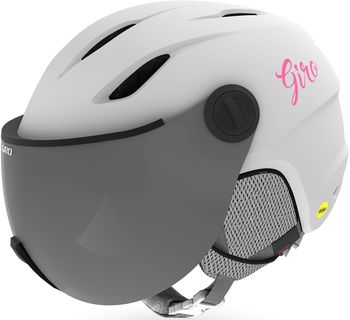 Lyžařská helma Giro Buzz MIPS Mat White