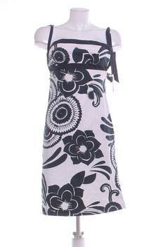 Letní šaty Oasis bílozelené