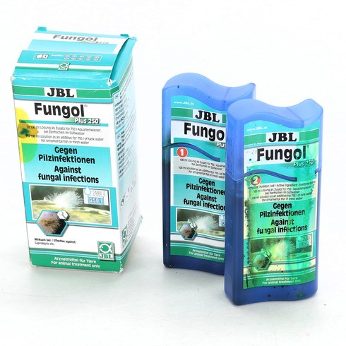 Čistič akvárií JBL Fungol Plus 250 2 ks