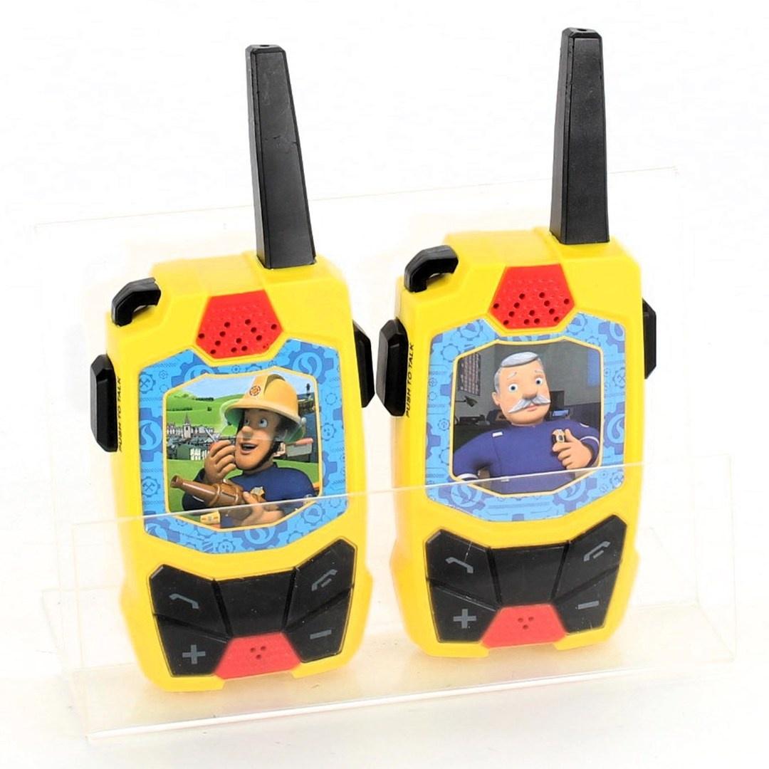 Vysílačky Dickie Toys Požárník Sam