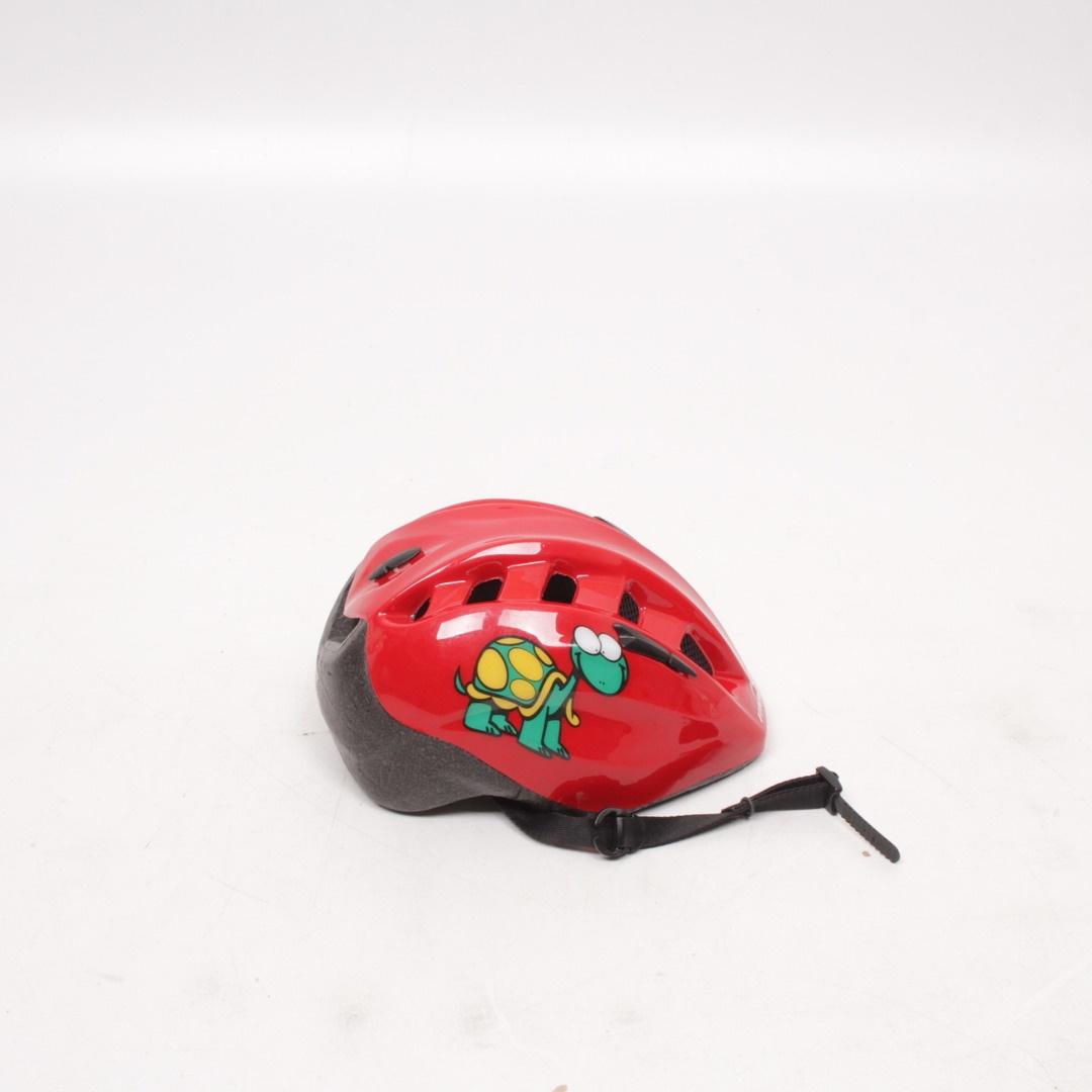 Dětská červená přilba Mango